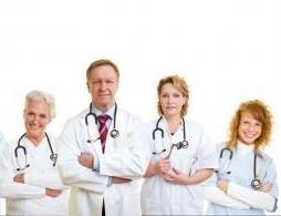 Doctores sonriendo