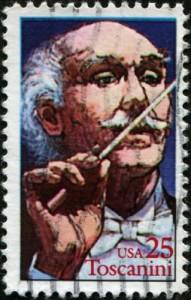 Sello con Arturo Toscanini