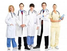 Grupos de médicos