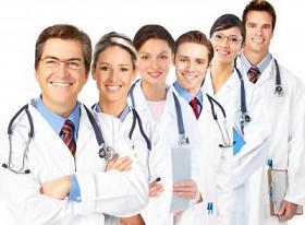 Profesionales de la salud.