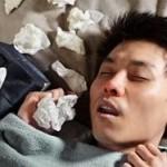 hombre durmiendo con tos