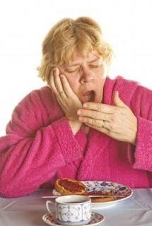 persona con sueño después de comer