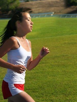 joven ejercicio respiracion bocal